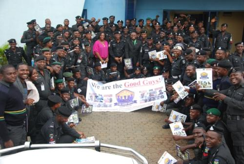 Group photograph after the training