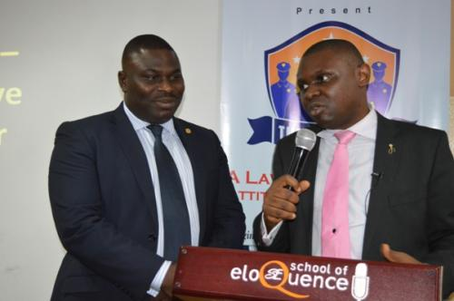 Degbola Lewis and Ubong Essien, CSP